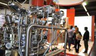Nicht nur Maschinen für pulverförmige Produkte waren auf der Powtech zu sehen