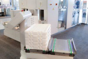Vollautomatische Reinraum-Logistik