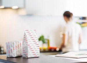 Gesiegelte Papierverpackung für trockene Nahrungsmittel
