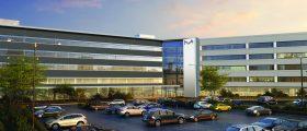 Nach seiner Fertigstellung soll der Gebäudekomplex das neunte M-Lab-Kooperationszentrum des Unternehmens beherbergen. (Bild: Merck)