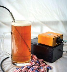 Spektrometer für die Analyse von Bier