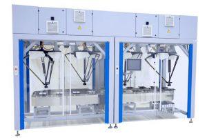 Modulare Unirob-Verpackungsanlagen mit integrierter Serialisierung