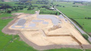 Neubau auf der grünen Wiese: GEA errichtet eine Milchpulverfabrik in Neuseeland. (Bild: Mataura Valley Milk)