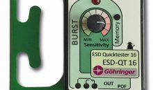 Quicktester ESD-QT für elektrostatische Entladung