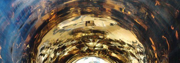 """Ein Behälter im Frühstadium der Korrosion mit """"Golding"""". (Bild: Beratherm)"""