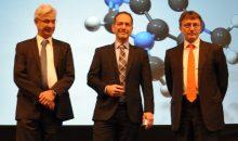Dr. Attila Bilgic (Mitte) ist seit Januar 2017 neben Stephan Neuburger (links) und Michael Rademacher Dubbick (rechts) Geschäftsführer bei Krohne.  Bild: Redaktion