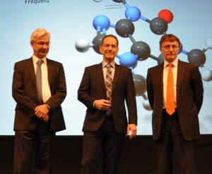 Stephan Neuburger, Dr. Attila Bilgic und Michael Rademacher Dubbick teilten sich den Sponsorenvortrag