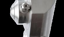Der Hochdruckreinigungkopf  im Hygienic Design eignet sich speziell für die Lebensmittelproduktion. (Bild: Moog Cleaning Systems)