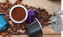 Der Füllgrad von Kaffeekapseln ist entscheidend dafür, dass die Qualität des Endproduktes stimmt. Eine Lösung von der Stange kam nicht in Frage; und so erfolgten Testreihen im unternehmenseigenen Technikum. (Bilder: Phish Photography – Fotolia und Gebr. Lödige Maschinenbau)