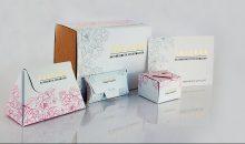 Für die DIY-Sets des Kosmetik-Startups Coscoon entwickelte die RLC Packaging Group ein edles und nachhaltiges Verpackungskonzept. (Bild: RLC)