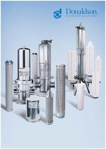 Die Lifetec Tiefen- und Membranfilterelemente für die Vor-, Fein- und Entkeimungsfiltration lassen sich in allen gängigen Gehäusekonstruktionen einsetzen. (Bild: Donaldson)