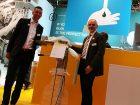 Sascha Schmitt und Martin Koch bei der Rommelag-Tochter Flecotec zeigten Containment-Lösungen auf Basis von Folientechnik.