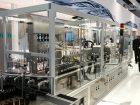 Groninger hat mit der Flexcare 100 eine flexible Verpackungslinie gezeigt, bei der unter anderem Komponenten aus dem 3D-Drucker zum Einsatz kommen.