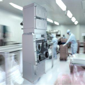 Isolatoren schützen Produkt und Personal in der Produktion. Aber was, wenn ein Filterwechsel ansteht? Bild: HET Filter
