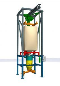 Modulare Bauweise: Die Einzelkomponenten der Anlage (farbig markiert) sind in verschiedenen Varianten erhältlich und je nach Bedarf zu kombinieren. (Bild: Azo)