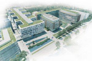 Die neue Konzernzentrale von Beiersdorf wird am Heimatstandort Hamburg-Eimsbüttel entstehen. (Bild: Beiersdorf)