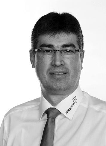 Matthias Honisch, Regional Sales  Manager, Frewitt