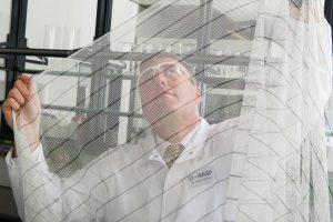 Interceptor G2 ist das erste von der WHO empfohlene Moskitonetz mit neuem Wirkstoff, welches wirksam gegen resistente Moskitos ist. (Bild: Andres/BASF)