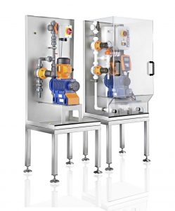 Prominent 1708pf015_DULCODOS Modulare Dosiersysteme Drinktec2017 Wäge und Dosiertechnik