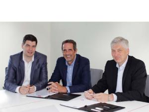Marc Burmeister übernimmt die Geschäftsführung bei Labom von seinem Vater Lutz Burmeister und bildet mit Frank Labohm die Doppelspitze des Unternehmens. (Bild: Labom)