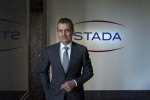 Dr. Claudio Albrecht, CEO bei Stada. (Bild: Michael Dannenmann)