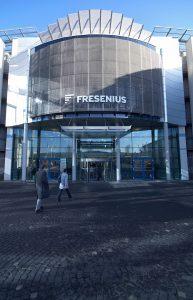 Fresenius-Zentrale in Bad Homburg. (Bild: Fresenius)