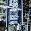 Bioreaktor mit Zeta-Rührwerk. (Bild: Zeta Biopharma)