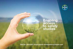 Unter cropscience-transparency.bayer.com ermöglicht Bayer Zugang zu sicherheitsrelevanten Studien über seine Pflanzenschutzmittel. (Bild: Bayer)