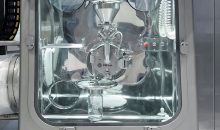 Das seitlich angebrachte Continous Liner System ermöglicht kontaminationsfreies EIn- und Ausschleusen.