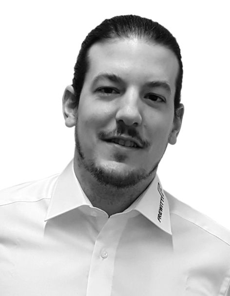 Yves Grossrieder,  Regional Sales Manager und Technical  Sales & Project  Manager, Frewitt