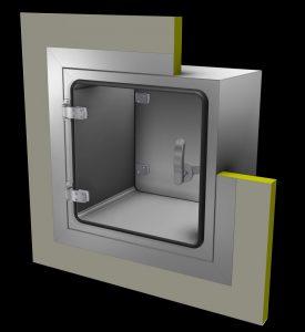 cik 1801pf012_Materialschleuse Reinraumtechnik