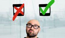 Ja oder Nein? Entscheidungen, die viel Eigenverantwortung erfordern, sind schwierig zu treffen. (Bild: Production Perig – Fotolia)