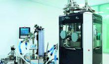 Containment-Messungen in einem speziell eingerichteten Raum im Kundenzentrum des Tablettenpressen-Herstellers Fette Compacting in Schwarzenbek. (Bild: Fette)