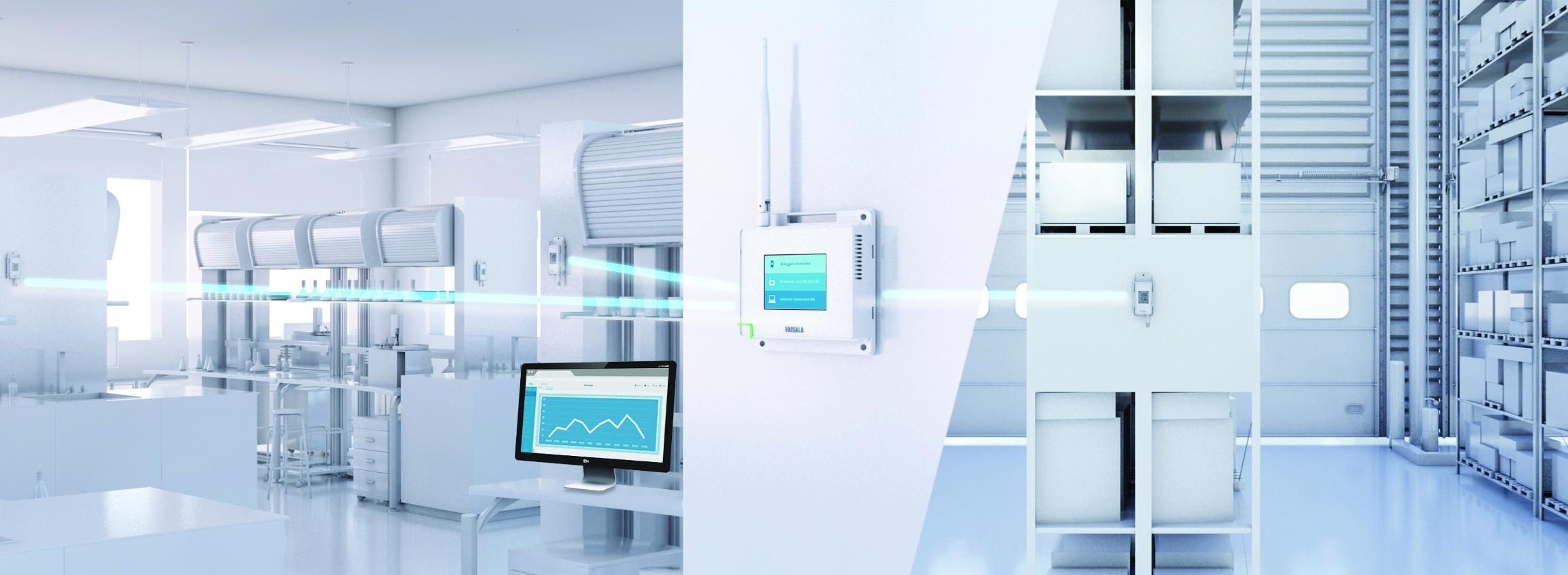 viewLinc Monitor von Vaisala