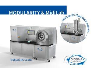 diosna 1804pf042_Coater Midilab RC Achema2018