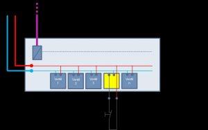2 Die Abschaltfunktion ist über einen zweiten Anschluss realisiert, über den der Stromkreis der Magnetspule unterbrochen werden kann