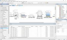 In der Version 12 der Prozesssimulations-Software bildet eine neuartige Stückgutsimulation logistische Abläufe auf Rezepte-Ebene ein. Bild: Inosim