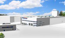 Greiwing investiert am Standort Duisburg sechs Mio. Euro in den Bau einer 5.300 Quadratmeter großen Logistikhalle mit 8.000 Palettenstellplätzen. (Bild: Greiwing)