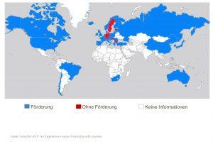 Deutschland gehört zu den wenigen Industrienationen, die Forschung und Entwicklung von Unternehmen nicht steuerlich fördern. (Bild: VCI)