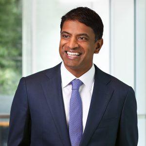 Vasant Narasimhan ist CEO von Novartis