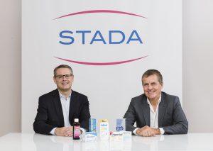 Peter Goldschmidt (li.) folgt als Stada-CEO Claudio Albrecht nach, der das Unternehmen verlässt. (Bild: Stada)