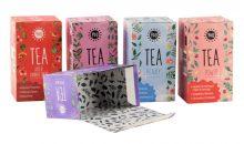 Außen und innen bunt: Der Innendruck von Teeverpackungen ist mit dem lebensmitteltauglichen Farbsystem problemlos möglich. (Bild: RLC)