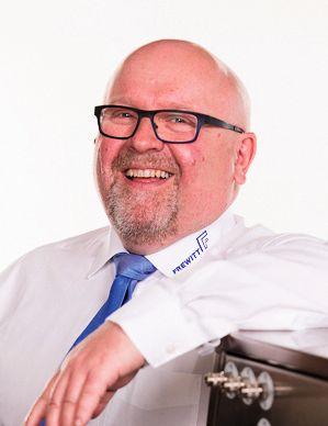 Notker U. Kling ist Vertriebsleiter Deutschland bei  Frewitt