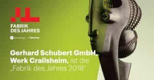 Auch der Verpackungsmaschinen-Hersteller Gerhard Schubert erhielt einen Preis. (Bild: obs/A.T. Kearney)