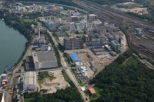 Der beiden Industrieparks befinden sich iun Muttenz in unmittelbarer Nachbarschaft. (Bild: Infrapark Baselland)