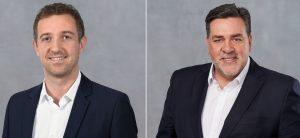 René Fáber (l.) und Gerry Mackay (r.) sind ab Januar 2019 neue Vorstandsmitglieder bei Sartorius. (Bilder: Sartorius)