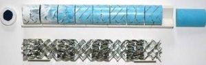 Schwing Einwegmischer mit X-Gitter-Geometrie
