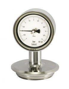 Labom 1901pf002 Autoklavierbares Manometer für Pharmaanwendungen