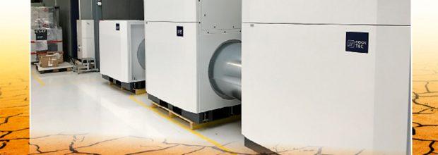 Um sehr trockene Prozessluft zu erzeugen, reichen in den meisten Fällen konventionelle Methoden wie die Kondensation der Wassermoleküle an Kühlregistern bzw. Wärmeübertragern nicht mehr aus – dann kommen Sorptionstrockner ins Spiel. (Bild: Bilder: ULT Dry-Tec  + by-studio − AdobeStock)
