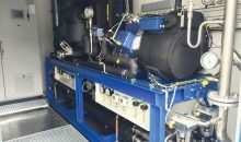 Alternative Kältemittel sorgen für eine hocheffiziente Kälteerzeugung. Hier: Eine Propen-Kälteanlage zur Temperierung von Rührwerksbehältern. (Bild: L & R)